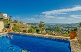 2 bedroom houses for sale in Moraira. Mediterranean villa with panoramic views, a pool, a garden and a patio, Moraira, Spain