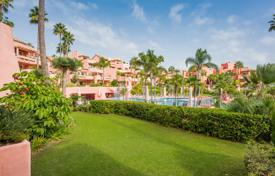 2 bedroom apartments for sale in Andalusia. Elegant Garden Level Apartment in Cabo Bermeja, Estepona