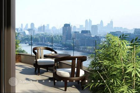 Luxury residential for sale in Europe. Designer apartments with views of the River Thames from the developer, in a new residential complex in the heart of Westminster, London