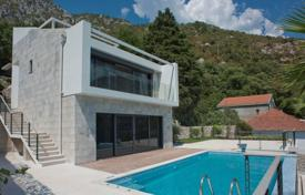 Spacious cottage with two terraces, a pool and sea views, near the beach, Kotor, Grbal, Montenegro for 1,650,000 €