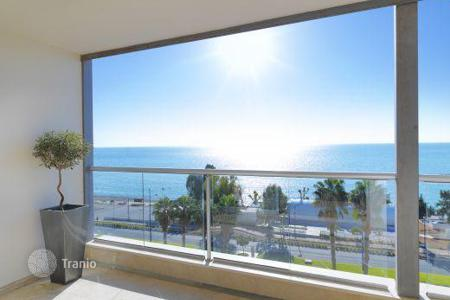 Coastal apartments for sale in Limassol. Elegant apartment with panoramic views on the seafront in Limassol, Cyprus