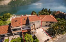 Comfortable apartment house with four terraces and a pier, on the first line from the sea, Morinj, Herceg Novi, Montenegro for 1,500,000 €