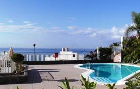 Apartments with pools for sale in La Caleta. Apartment next to the ocean on the island of Tenerife
