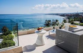 Comfortable duplex-penthouse with a terrace and sea views in a residence with a direct access to the beach, Malaga, Costa del Sol, Spain for 3,500,000 €