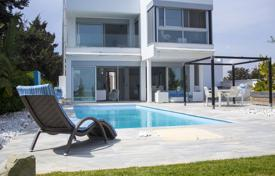 Luxury houses for sale in Larnaca. Four Bedroom Detached Beach Front House — Pervolia