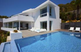Residential to rent in Roca Llisa. Two-level villa with a pool and views of the Formentera island, Roca Llisa, Ibiza, Spain
