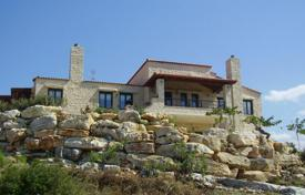 Stone villa with a large plot and a sea view, Chania, Crete, Greece for 1,800,000 €
