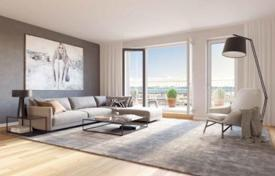 New homes for sale in Munich. Apartment with a terrace, in a new residence with a parking and a garden, in Bogenhausen district, Munich, Germany