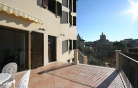 Property for sale in Marche. Restored 3 bedroom townhouse with garden and beautiful views in the medieval town