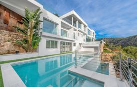 Property for sale in Costa d'en Blanes. Snow-white villa with panoramic sea views, swimming pools and a gym in a residence with around-the-clock security, Costa d'en Blanes, Spain