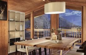 Luxury 6 bedroom apartments for sale in Europe. Spacious penthouse with terraces and views of the Swiss and Italian Alps, close to the ski slopes, Courchevel, France