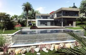 Luxury residential for sale in Benalmadena. New villa with panoramic windows, a spacious pool and a beautiful garden, Benalmadena, Spain