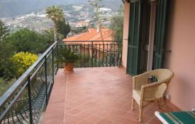 Luxury 4 bedroom houses for sale in Liguria. Secluded villa in Ospedaletti, Italy. Panoramic views of the sea, spacious terraces, large garden