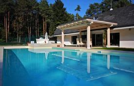 Houses with pools for sale in Piedmont. Villa with a pool, a gym and a tennis court near the Lake Maggiore, Piemonte, Italy