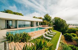 Residential for sale in Ibiza. Villa with a tropical garden, a swimming pool and breathtaking sea views in Vista Alegre, Ibiza, Spain