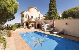 Houses for sale in El Mas Fumats. Two-storey villa with a pool, terraces and a garden, overlooking the sea and mountains, near the city center, El Mas Fumats, Spain