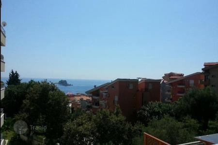 1 bedroom apartments by the sea for sale in Petrovac. New apartment with stunning panoramic sea view in Petrovac, Montenegro