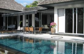 Houses for sale in Southeastern Asia. Spacious villa with infinity pool, terrace and a beautiful garden close to the sea, Layan, Phuket, Thailand