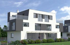 Townhouses for sale in Austria. New four-level townhouse with a garden and a parking in Donaustadt, Vienna