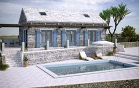 Villa with a private garden, a pool, a barbecue, a parking and a sea view, Sutivan, Croatia for 360,000 €