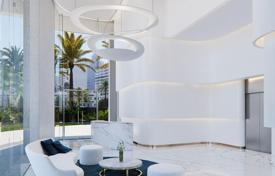 Apartments with pools for sale in Valencia. Two-bedroom light apartment in a new elite residence situated on the first line from the sea, Benidorm, Spain