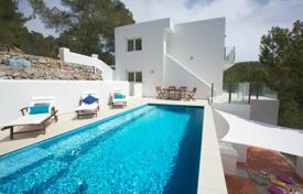 New villa with a pool and a sea view in Es Cavallet, Ibiza, Spain for 10,600 € per week