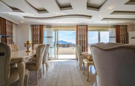 Apartments with pools by the sea for sale in Western Asia. 3+1 Penthouse for sale Alanya Mahmutlar. Become the owner of a luxurious apartment with stunning sea view.