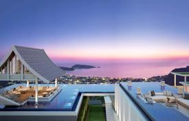 New sea view apartments with different layouts, in a residence with a swimming pool and a garden, Patong. From the developer. for $132,000