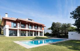 Luxury 5 bedroom houses for sale in Catalonia. Exclusive villa with an elevator, a gym, a spa, a swimming pool and sea views, El Masnou, Spain