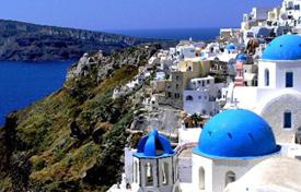 Coastal residential for sale in Santorini. Development land – Santorini, Aegean Isles, Greece