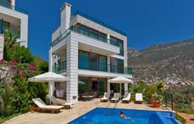 5 bedroom houses by the sea for sale in Western Asia. Villa – Kalkan, Antalya, Turkey