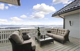 Property for sale in Norway. The luxurious three-level house with sea views in Molde, Western Norway