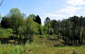 Development land for sale in Aquitaine. Picturesque plot with a wooded area to build a large villa or a hotel, close to the city center, Biarritz, France