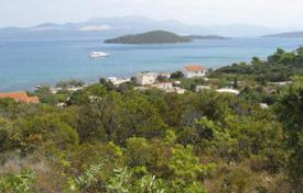 Coastal development land for sale in Croatia. Plot overlooking the sea on the peninsula of Peljesac, Dalmatia, Croatia