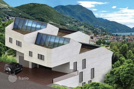 Luxury 4 bedroom apartments for sale in Central Europe. New home – Canobbio, Ticino, Switzerland