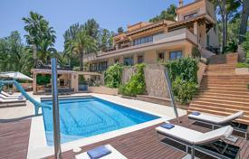 Luxury houses for sale in Palma de Mallorca. Frontline villa to the Son Vida golf course, Son Vida, Mallorca, Spain