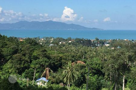 Development land for sale in Southeast Asia. Plot of land in the prestigious area of Bophut Hill, Koh Samui