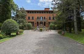 Luxury houses for sale in Umbria. Prestigious villa with private park located on a scenic hill a few km from Perugia