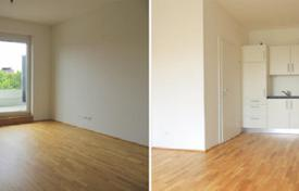 Cheap 1 bedroom apartments for sale in Steiermark. New one-bedroom apartment with a terrace and private garden for living or renting, St. Peter, Graz