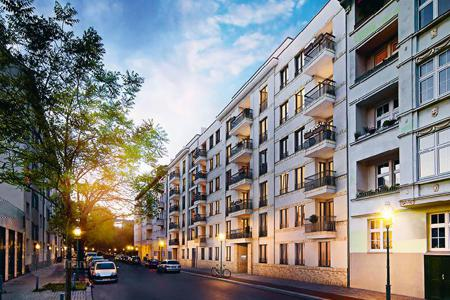 New homes for sale in Charlottenburg. One bedroom apartment in the elite district of Berlin