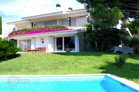 Houses with pools by the sea for sale in Alella. Villa – Alella, Catalonia, Spain