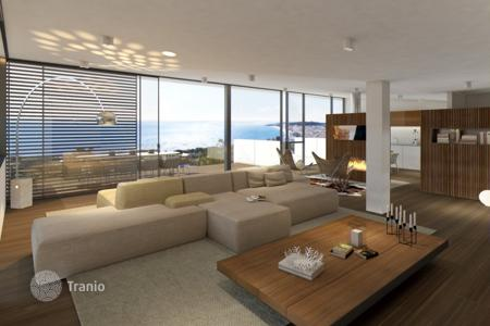 3 bedroom apartments for sale in Costa Brava. Penthouse with panoramic terrace in new complex with pools in Platja d 'Aro, Spain