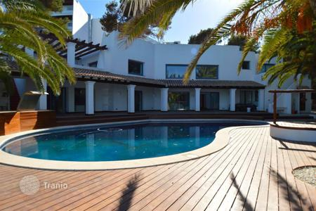 Coastal houses for sale in Balearic Islands. The house on the seashore in Santa Eulalia