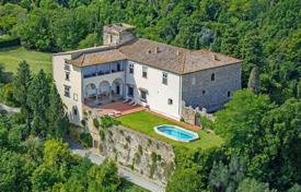 Three-storey castle with a swimming pool and a garden in Florence, Toscana region, Italy for 7,000,000 €