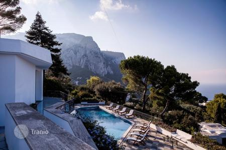 6 bedroom villas and houses to rent in Europe. Villa – Capri, Campania, Italy