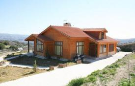 Chalets for sale in Paphos. Bespoke Log Bungalow, Huge Secluded Plot — Polemi