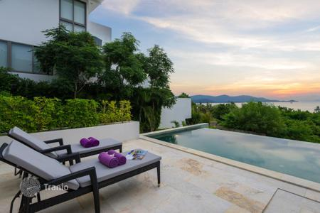 Houses for sale in Southeast Asia. Villa with stunning sea views in the rapidly growing field of Plai Laem, Koh Samui