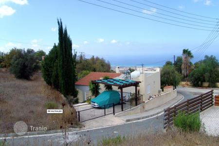 Land for sale in Paphos. 750 m² plot in Kynousa (between Polis & Argaka) with panoramic sea views