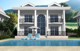 4 bedroom off-plan houses for sale overseas. Three-storey villa with mountain views in Ovacik