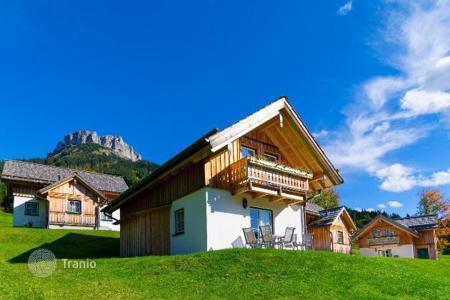 Residential for sale in Steiermark. The two-story chalet with a sauna at the lake in Altaussee, Austrian Alps